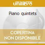Piano quintets cd musicale di Dvorak/martinu