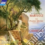 Solo piano music v.1, the cd musicale di Giuseppe Martucci