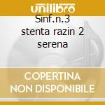 Sinf.n.3 stenta razin 2 serena cd musicale di Alexander Glazunov