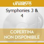 Symphonies 3 & 4 cd musicale di Avet Terterian
