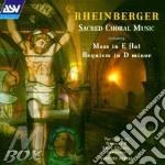 Rheinberger, J. - Sacred Choral Music cd musicale di Joseph Rheinberger
