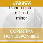 Piano quintet n.1 in f minor cd musicale di Giovanni Sgambati