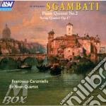 Piano quintet n.2/string quart cd musicale di Giovanni Sgambati