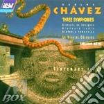 Three symphonies batiz cd musicale di Carlos Chavez