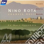 Chamber music ex novo ensemble cd musicale di Nino Rota