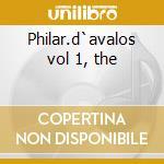 Philar.d`avalos vol 1, the cd musicale di Muzio Clementi