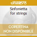 Sinfonietta for strings cd musicale di Miaskovsky