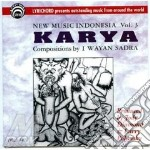 New music indonesia vol.3 cd musicale di Karya