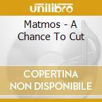 Matmos - A Chance To Cut cd musicale di MATMOS