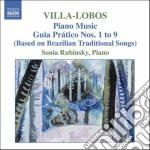 Musica per pianoforte (integrale) vol.5: cd musicale di Villa lobos heitor