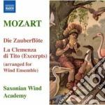 Il flauto magico, la clemenza di tito (e cd musicale di Wolfgang Amadeus Mozart