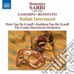 Moschetta e giulio (intermezzo i e ii) cd musicale di Domenico Sarri