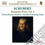 Lied edition 27 - roantic poets vol.4 cd musicale di Franz Schubert