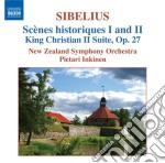 Sc????ne historiques i e ii, kung christian cd musicale di Jean Sibelius