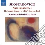 Sonata per pianoforte n.2, a child's exe cd musicale di Dmitri Sciostakovic