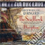 The sea hawk, deception (colonne sonore cd musicale di Korngold erich wolfg