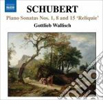 Le sonate per pianoforte incomplete: n.1 cd musicale di Franz Schubert