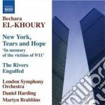 New york, tears and hope; the rivers en cd musicale di Bechara El-khoury
