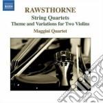 Rawsthorne Alan - Quartetto Per Archi Nn.1, N.2, N.3, Tema E Variazioni cd musicale di Alan Rawsthorne
