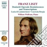 Opere per pianoforte (integrale), vol.27 cd musicale di Franz Liszt