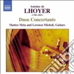 Duo concertanti op.31, op.34 cd musicale di De lhoyer antoine