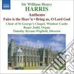 William Harris - Anthems cd musicale di William Harris