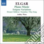 Elgar Edward - Opere Per Pianoforte cd musicale di Edward Elgar