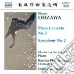 Concerto per pianoforte n.2, sinfonia n. cd musicale di Hisato Ohzawa