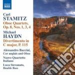Quartetti per oboe op.8 n.1,3 e 4 cd musicale di Carl Stamitz