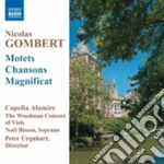 Motets and chansons cd musicale di Nicolas Gombert