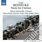 Musica per clarinetto cd musicale di Carl Reinecke