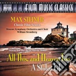 All this, and heaven too; a stolen life cd musicale di Max Steiner