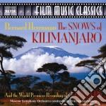 The snows of kilimanjaro, 5 fingers cd musicale di Bernard Hermann