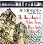 Il gobbo di notre dame, all about eve su cd musicale di Alfred Newman