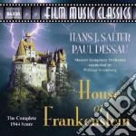 House of frankenstein complete score 194 cd musicale di Paul Dessau