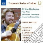 Guitar recital: jerome ducharme cd musicale