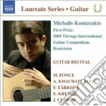 Guitar recital - laureate series, concor cd musicale di Ponce manuel m.
