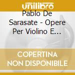 Music for violin.. cd musicale di Pablo Sarasate