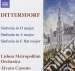 Sinfonia grave a6, d6, eb9 cd musicale di Dittersdorf carl dit