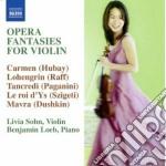 Opera fantasies for violin cd musicale