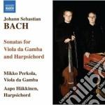 Sonate per viola da gamba bwv 1027-1029 cd musicale di Johann Sebastian Bach