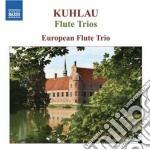 Trii per 3 flauti: op.13 nn.1-3, op.86 n cd musicale di Friedrich Kuhlau
