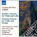 Concerto doppio per violino e violoncell cd musicale di Chin gordon shi-wen
