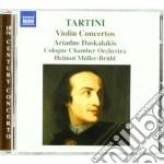 Concerti per violino (d 28, 50, 80, 96, cd musicale di Giuseppe Tartini