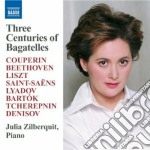 3 centuries of bagatelles cd musicale