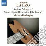 Opere per chitarra (integrale), vol.2 cd musicale di Antonio Lauro