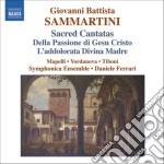 Cantate sacre: della passione di ge???? cri cd musicale di Giovanni Sammartini