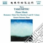 Opere per pianoforte (integrale) cd musicale di Toru Takemitzu
