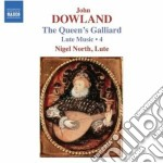 Musica per liuto (integrale), vol.4 cd musicale di John Dowland
