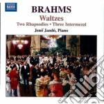Rhapsodies op.79, waltzes, op.39 cd musicale di Johannes Brahms